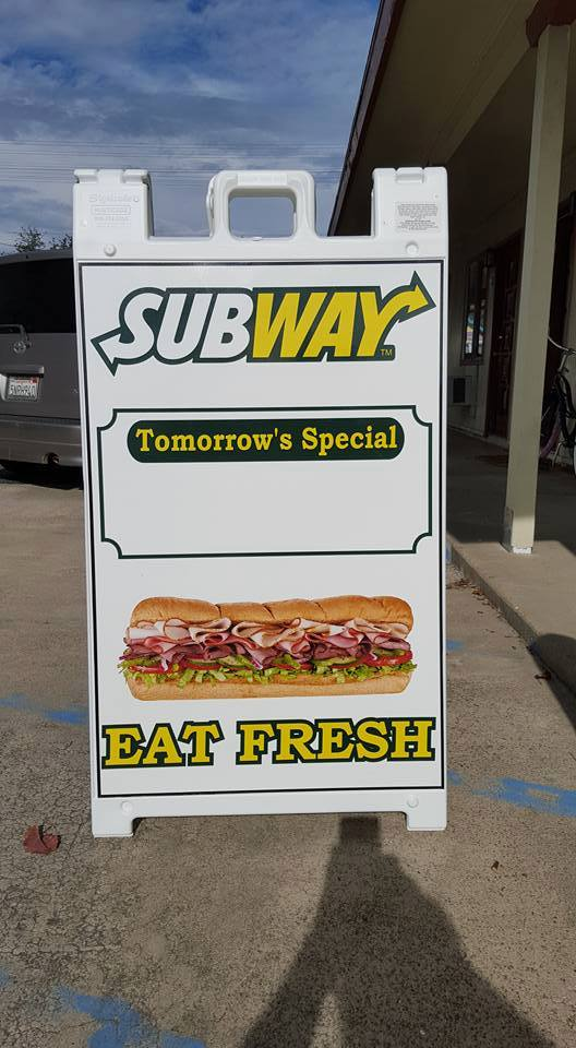 A FRAME OUTDOOR SIGNAGE